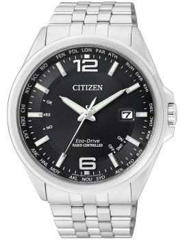 Citizen Eco-Drive Elegantné CB0010-88E 4-Zones Radio Controlled Watch 43 mm 100M