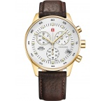 Swiss Military SM30052.05 Chronograph gold 40mm 5ATM