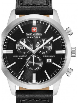 Swiss Military Hanowa 06-4308.04.007 Classic Chrono 44mm 10ATM