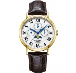 Rotary GS05328/01 Windsor men`s watch 40mm 5ATM