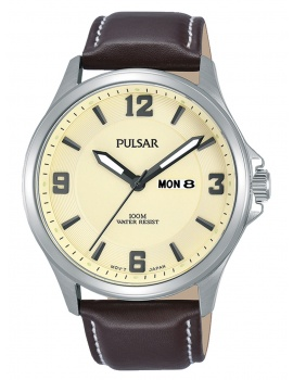 Pulsar PJ6085X1 Classic Men's 42mm 10 ATM