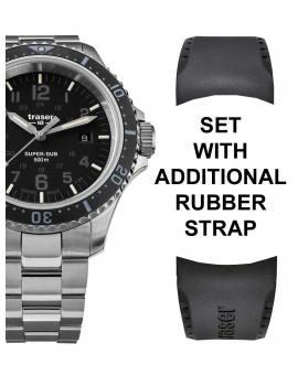 Traser H3 109376 P67 T25 SuperSub Set Black 46 mm Potápačské hodiny