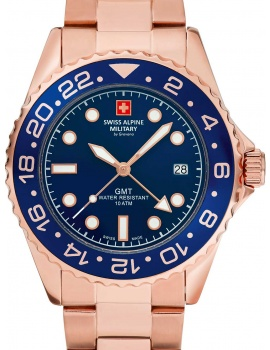 Swiss Alpine Military 7052.1165 GMT Diver 42mm 10ATM