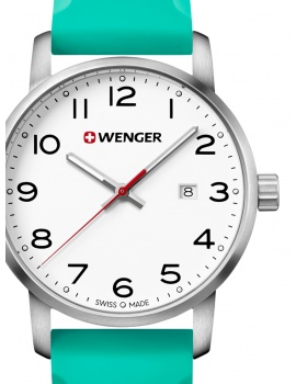 Wenger 01.1641.108 Avenue Men's 42mm 10 ATM