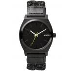 NIXON A045-1941 Time Teller Black Reflective Woven 37mm 10ATM