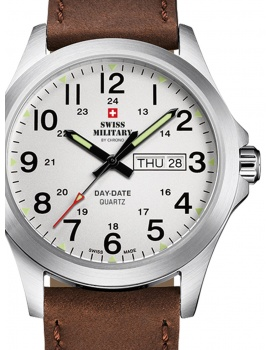 Swiss Military SMP36040.16 Men's 42mm 5 ATM