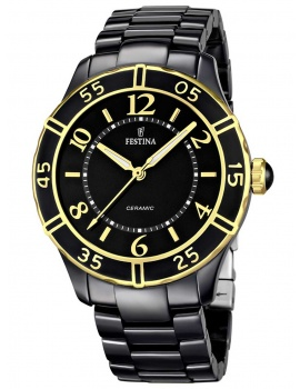 Festina F16633/2 Keramika Ladies 38mm 5 ATM