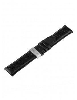 Universal Replacement Strap [24 mm] black + silver Ref. 23833