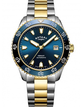 Rotary GB05131/05 Henley automatic men`s 42mm 10ATM