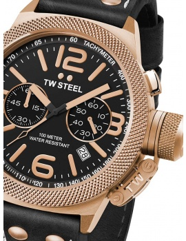 TW-Steel CS73 Canteen Leather Chronograph 45mm 10ATM