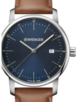 Wenger 01.1741.111 Urban Classic Men's 44mm 10 ATM