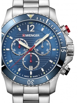 Wenger 01.0643.111 Seaforce Chronograph 43mm 20ATM