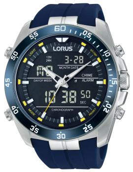 Lorus RW617AX9 Analog-Digital Budík Chronograph 100M 46mm