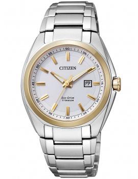 Citizen EW2214-52A Eco-Drive Super-Titanium Ladies 34mm 10 ATM