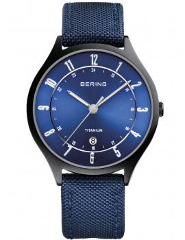 Bering 11739-827 Titanium Men's 39mm 5 ATM