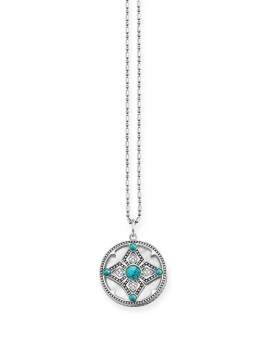 Thomas Sabo Necklace KE0012-360-14 925 with Pendant ethno amulet 40-45cm