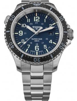 Traser H3 109375 P67 T25 SuperSub Blue 46 mm Potápačské hodiny 50ATM