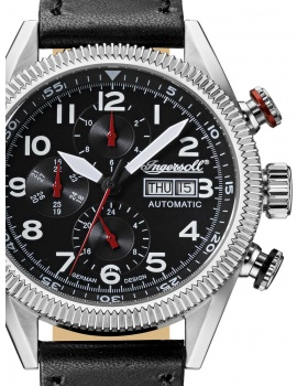 Ingersoll IN1102BK Grizzly Men's Automatic 46mm 5 ATM
