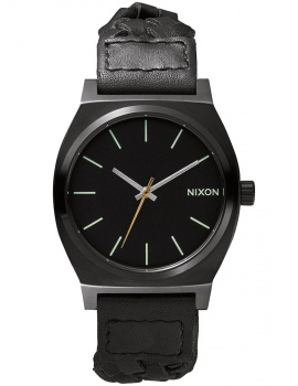 NIXON A045-1928 Time Teller All Black Woven 37mm 10ATM