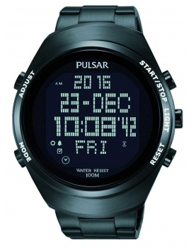 Pulsar PQ2057X1 Pánske Digital-Chrono 46mm 10ATM