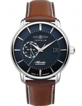 Zeppelin 8470-3 Atlantic automatic men`s watch 41mm 5ATM