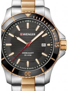 Wenger 01.0641.127 Seaforce Men's 43mm 20 ATM