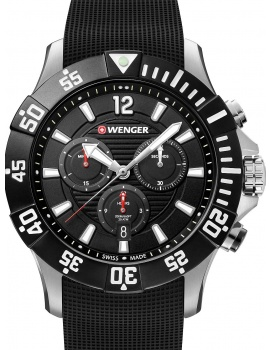 Wenger 01.0643.118 Seaforce Taucher-Chronograph 43mm 20ATM