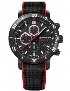 Wenger 01.1843.109 Roadster Black Night chrono 45mm 10ATM