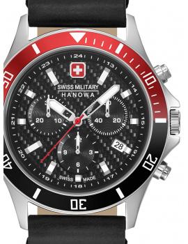Swiss Military Hanowa 06-4337.04.007.36 Flagship Racer chrono 42 mm 10ATM