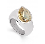 Tamaris Amy Ring A00210077 Gr. 58 Tropfen Oceľ Golden Shadow