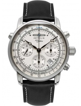 Zeppelin 7618-1 ED-1 <100 years> automatic chrono 42mm 5ATM