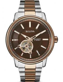 Bulova 98A140 automatic men`s watch 45mm 3ATM
