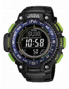CASIO SGW-1000-2BER Collection Men's 54mm 10 ATM