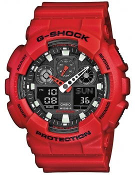 CASIO GA-100B-4AER G-SHOCK 51mm 20 ATM