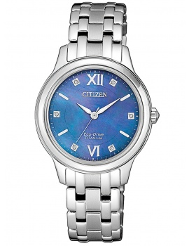 Citizen EM0720-85N Titanium Ladies 30mm 5 ATM
