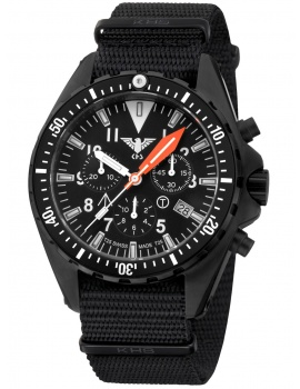 KHS Tactical Watch KHS.MTAFC.NB Missiontimer 3 Chronograph 42mm 20ATM