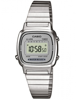 CASIO LA670WEA-7EF Collection Dámske 24mm 3ATM