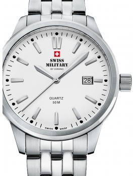 Swiss Military SMP36009.02 Men's 41mm 5ATM