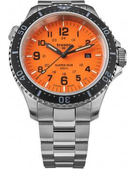 Traser H3 109381 P67 T25 SuperSub Oranžová 46 mm Potápačské hodiny 50ATM