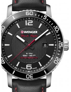 Wenger 01.1841.101 Roadster Men's 44mm 10 ATM