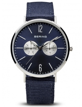 Bering 14240-507 Classic + Replacement Strap Men's 41mm 3ATM
