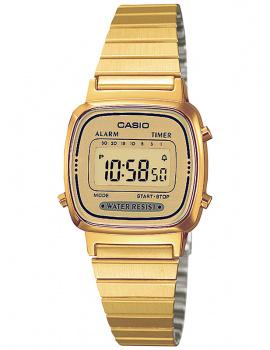 CASIO LA670WEGA-9EF Collection Ladies 24mm 3 ATM