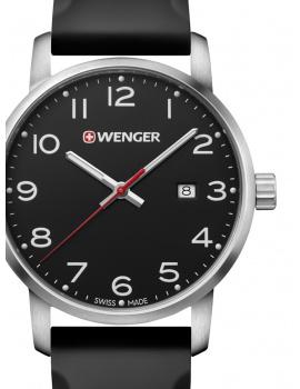 Wenger 01.1641.101 Avenue Men's 42mm 10 ATM