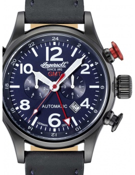 Ingersoll IN3218BBL Men's Lawrence Automatic 46mm 5 ATM