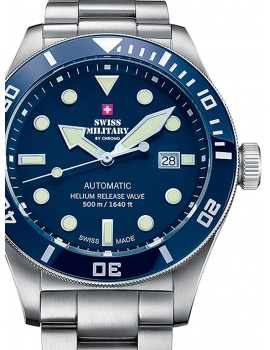 Swiss Military SMA34075.02 Automatic 44mm 50ATM